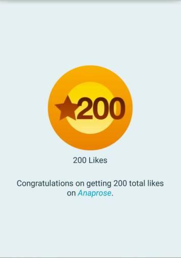 200 likes