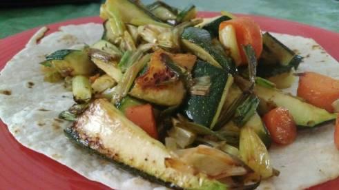 veggie burrito II